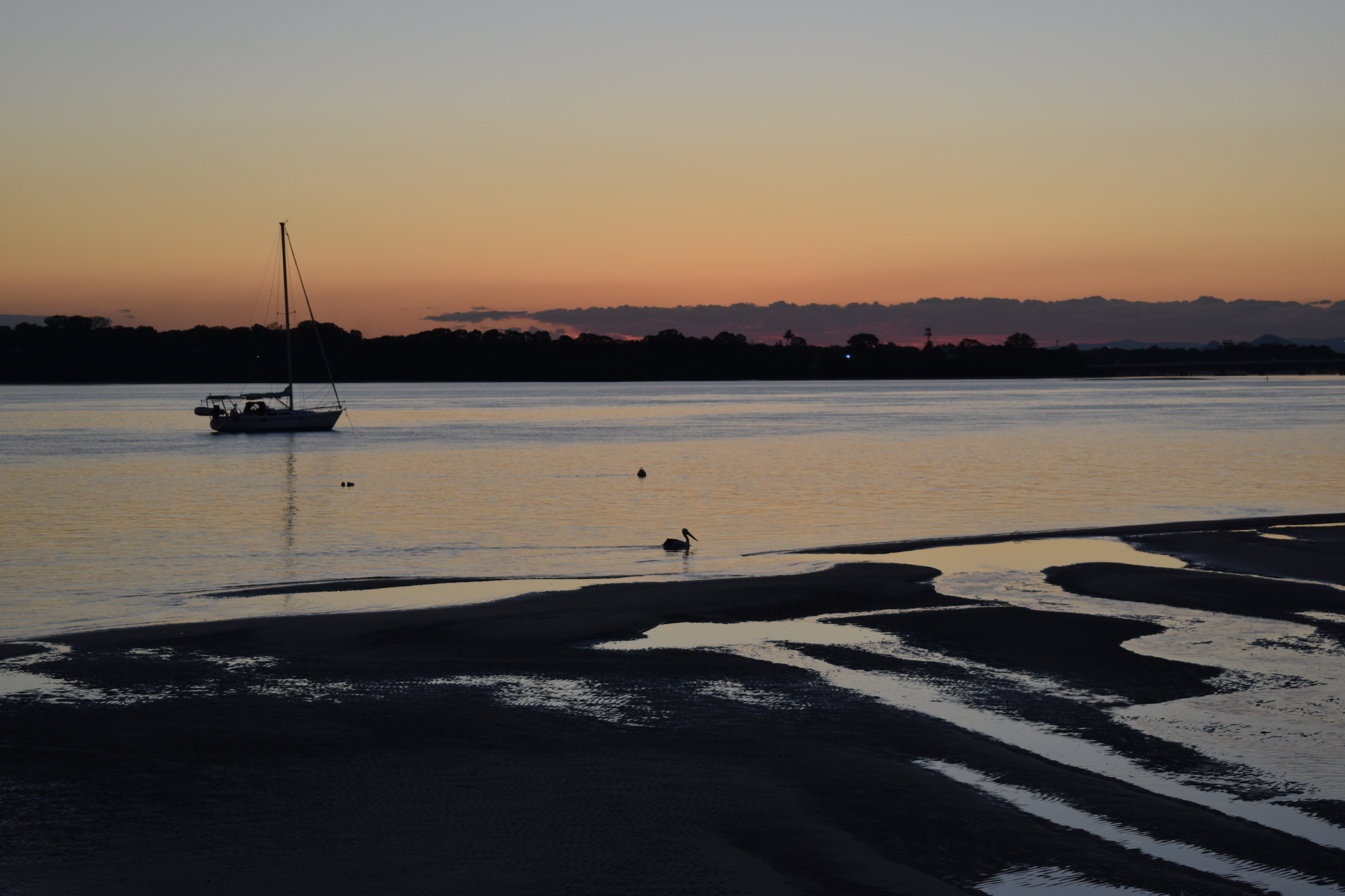 Bribie Island – a fun garden and awesome sunsets